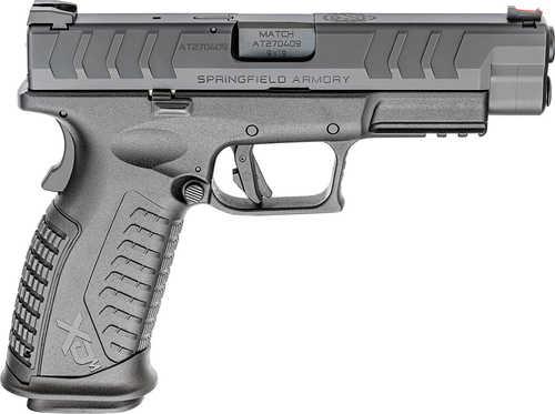 "Springfield Armory XD-M Elite Semi Automatic Pistol 9mm Luger 4.50"" Barrel 20 Round Black Finish"