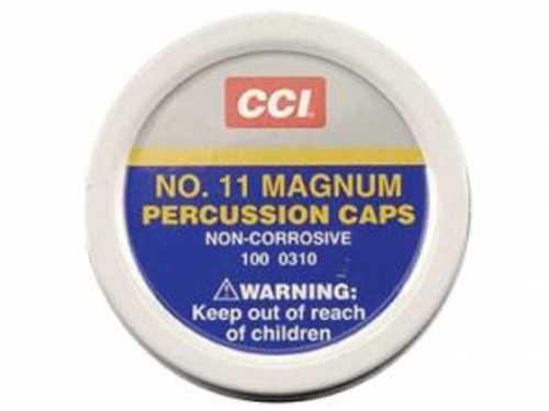 CCI Magum Percussion Caps #11 Box of 1000
