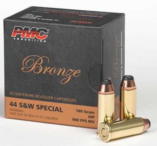 PMC 44 Special 180 Grains JHP 25 Rounds Ammunition
