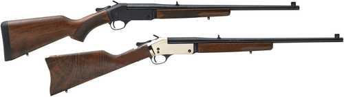 "Henry Singleshot Break Open Rifle 44 Remington Magnum 22"" Barrel 1 Shot American Walnut Stock, Blued"