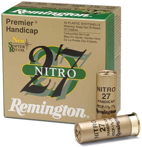 Remington Premier Nitro 12 Gauge 2.75'' 1oz #7.5 25/bx