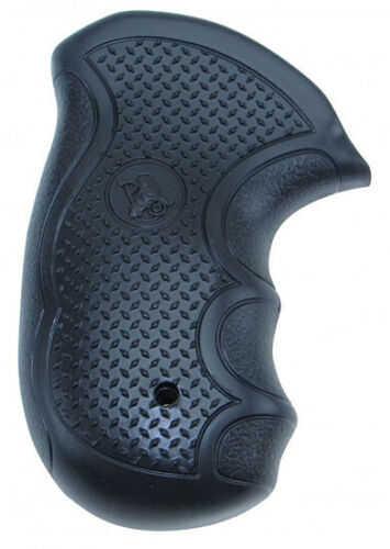 Pachmayr Diamond Pro Grip, Fits S&W J Frame Round Butt, Black Finish 2478