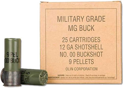 "Winchester MegaBuck Shot 12 Gauge 2.75"" 00 Buck 25 Box Q1544VP"