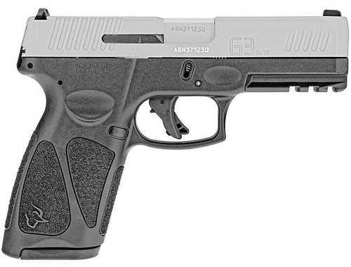"Taurus G3 Pistol 9mm Luger 4"" Barrel 15+1 Magazine Stainless Steel Slide Black Polymer Grip"