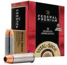 Federal Cartridge Premium Pistol Ammunition 454 Casull 300gr Swift 20bx P454SA