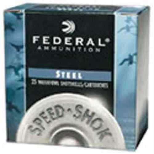 Federal Cartridge Steel Shotshells Ammunition 12ga 3In #4 1-1/8oz Hv 25bx 10 Per Case (Case Price) Size #4 WF1434