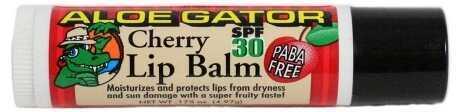 Aloe Gator Lip Balm Cherry Spf30-Bulk 20310