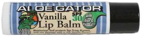 Aloe Gator SPF30 Lip Balm, Vanilla