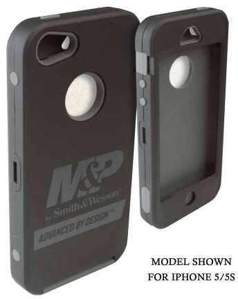 Allen Cases Allen Company Cell Phone Case M&P Galaxy S4 Black/Grey 21019