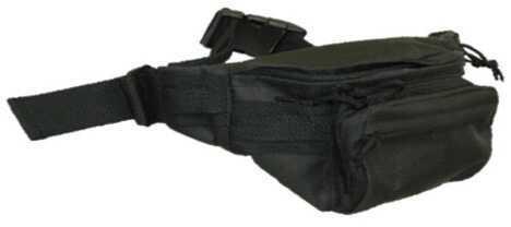 "Bob Allen Tactical Waist Bag 14.5""x8""x3"" Black Md: 300B"