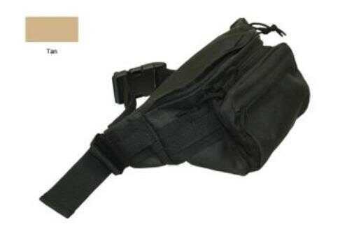 """Bob Allen Tactical Waist Bag 14.5""""x8""""x3"""" Tan Md: 300T"""