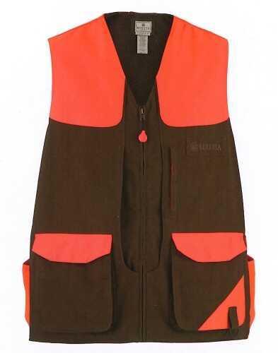 Beretta 30324 - Cotton Field Vest Brown/Blaze Xl GUB626020430XL