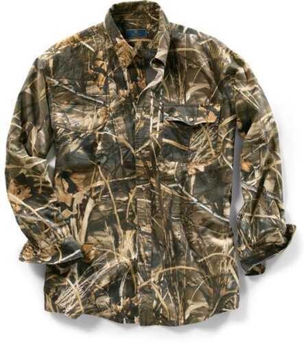 Beretta 54017 - Tm Shooting Shirt Ls Lg Max-4 LU19756177L