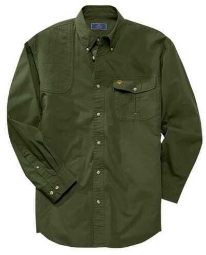 Beretta 54041 - Tm Shooting Shirt Ls Lg RFL Green LU19756178L