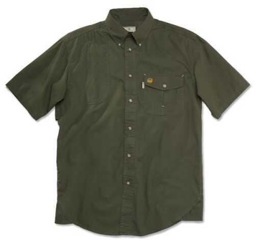 Beretta 54077 - Tm Shooting Shirt SS Lg RFL Green LU20756178L