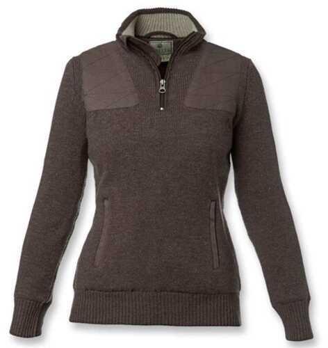 Beretta Women Tech Wind Sweater Halfzip Brown X-Large MD027092081YXL