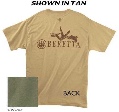 Beretta 30577 - WATERFOWLER T-Shirt Green Lg TS517085074AL