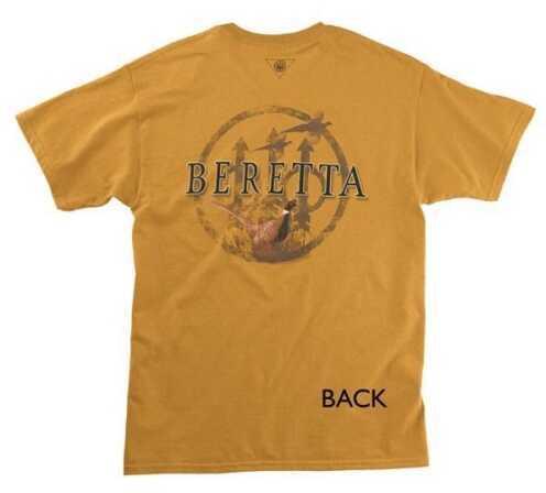 Beretta 18032 - Pheasant T-Shirt Brown/Curry Lg TS5470850815L