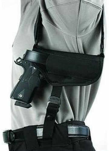 "BlackHawk Products Group Nylon Horizontal Shoulder Holsters Black - Medium - Size:15 -- 3 3/4"" - 4 1/2"" barrel large autos - 40HS15BK-MD"