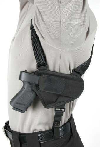 BlackHawk Products Group Nylon HORIZ Shoulder HLSTR Lg SZ 16 Black 40HS16BKLG