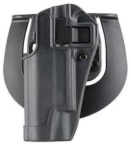 BlackHawk Products Group SERPA Level 2 Sportster Left Handed - Size: 13 - Gunmetal Grey holster body - Glock 20/21/37 S&W MP 413513BK-L