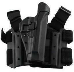BlackHawk Products Group Blackhawk SERPA Tactical Level 2 Holster Matte Black - Right Handed - Size:06 - Sig 220/225/226/228/ 430506BK-R