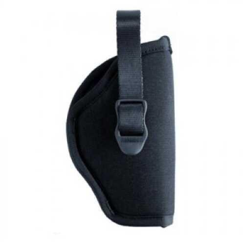 "BlackHawk Products Group Nylon Hip Holster Black - Left Handed - Size:02 - 3"" - 4"" Barrel Medium & Large Double Action Revolv 73NH02BK-L"