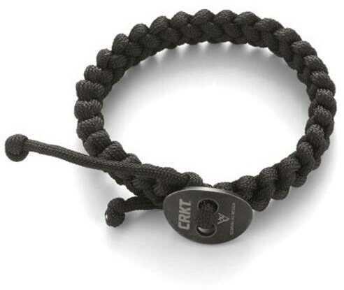 Columbia River Scarvalas Quick Release Paracord Bracelet Black Large