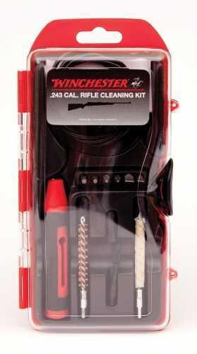 DAC Technologies Win 12Pc .243Cal Rifle Cleaning Kit PULLTHROUG WIN243LR