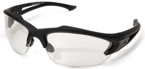 Edge Safety Eyeware Edge Eyewear Acid Gambit - Black /Clear Lens Glasses SG611