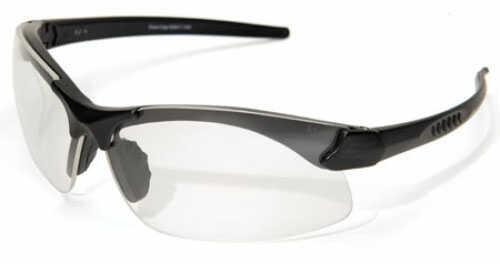 Edge Safety Eyeware Edge Eyewear Sharp Edge - Black/Clear Lens Glasses SSE611