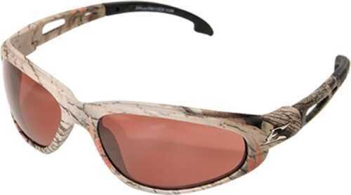 Edge Safety Eyeware Edge Eyewear Dakura Camo/copper Driving Lens Glasses SW115CF