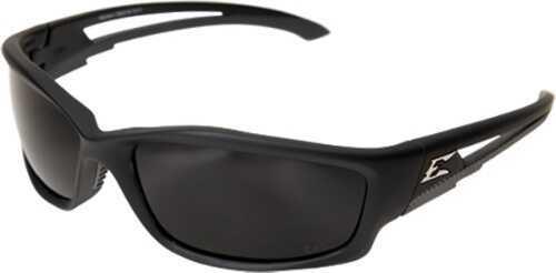 Edge Safety Eyeware Edge Eyewear Kazbek Polar Black/Smoke Lens Glasses TSK216