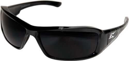 Edge Safety Eyeware Edge Eyewear Brazeau Gargoyle Black/Smoke Lens Glasses XB116G