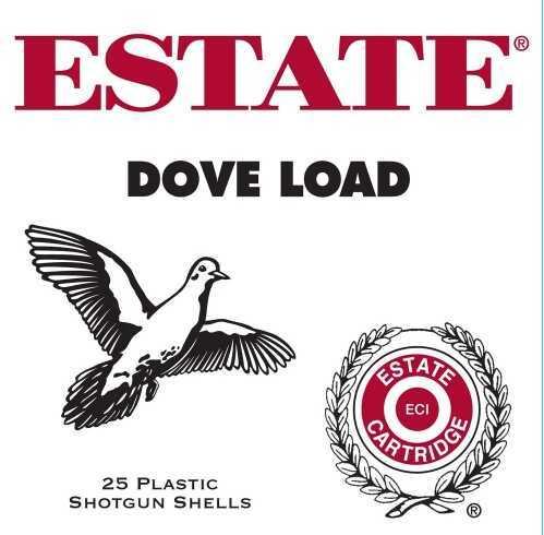 Estate Cartridge Dove Load 12Ga 2.75In 7.5 Lead 1oz 25 Rd/Bx GTL12N75