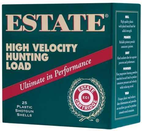 Estate Cartridge HV Hunting 28 Ga 2.25De .75Oz #6 25 Rounds Per Box HV286