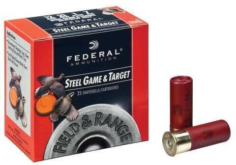 Federal F&R Steel 20Ga 2.75In 3/4 oz SZ 7 25 Rounds Ammunition FRS207