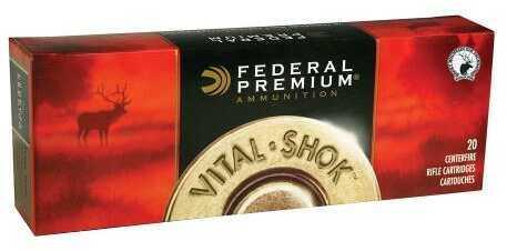 Federal Cartridge Federal Vital-Shok 270 Win Sm NKL 130 Gr 20Rd/Bx