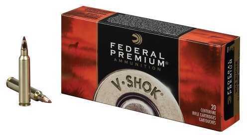 Federal Cartridge Federal Ammunition V-Shok 7MM-08 Rem NKL 140 Gr 20 Rounds Per Box P708TC2