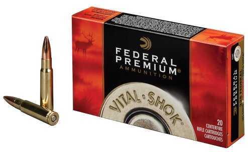 Federal Cartridge Federal Ammunition V-Shok 7MM Win Sm NKL 150 Gr 20 Rounds Per Box P7WSMTC3