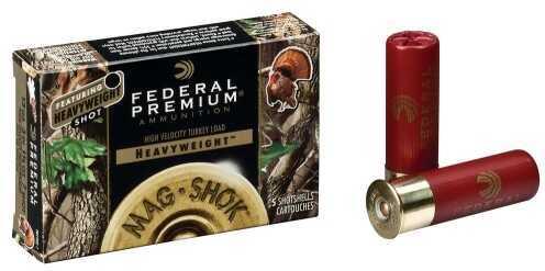 Federal Cartridge Federal Ammunition Mag Shok 12Ga 2.75In SZ 6 5Rd/Bx PHT154F6