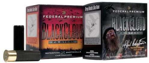 "Federal Cartridge FED PREM BLACK CLOUD 12G 3"" 25BX"