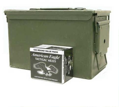 Federal Cartridge Fed .223 Rem 55Gr FMJBT 1000Rd In Can XM223BLAC