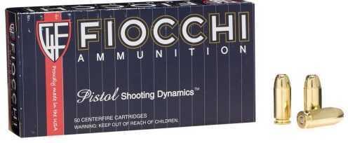 Fiocchi Ammunition Centerfire Pistol 40 S&W 165 Grain Full Metal Jacket 50 Round Box 40SWF