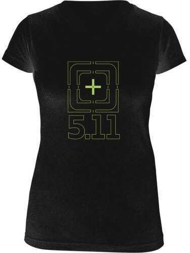 5.11 Inc Tactical BULLS Eye Short sleeve Shirt Lady Black Xl 31004AJ019XL