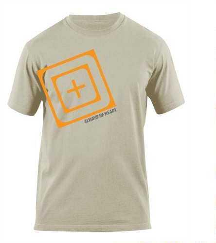 5.11 Inc 511 Tactical Slant Scope Short Sleeve Shirt S Tan Md: 41006AH170S