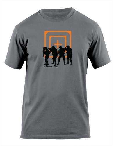 5.11 Inc Cross Hair Stacked Logo T-Shirt Men's Medium 41006AP018M