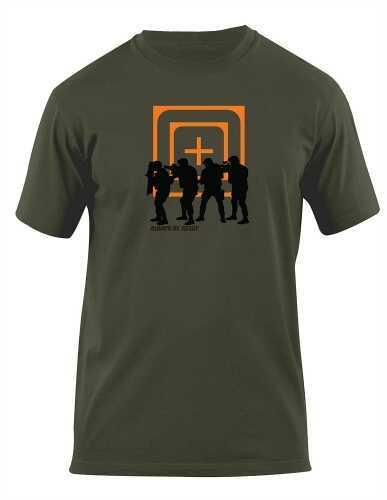 5.11 Inc Tactical 29629 - Crosshair Stock Short sleeve Shirt L OD Green 41006AP182L