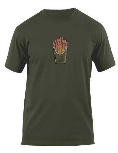 5.11 Inc Men's Freedom Fries Logo T-Shirt OD Green Medium 41006BB182M