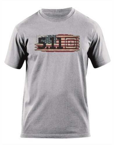 5.11 Inc Tactical Old Glory short sleeve Shirt Heather Grey M 41006BD016M